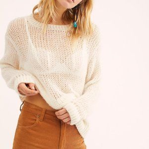 Free People Light and Lofty Jumper Knit Sweater XS